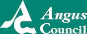 Angus Council logo with link to website
